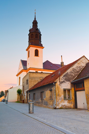 moravia: Church in Uhersky Ostroh, Moravia, Czech Republic.