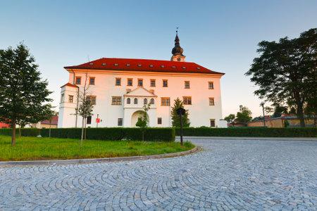 moravia: Palace in Uhersky Ostroh, Moravia, Czech Republic.