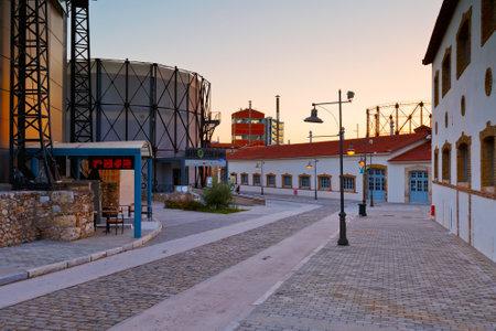 Tecnópolis en el barrio de Gazi, Atenas. Editorial