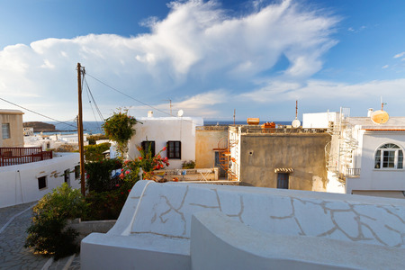 naxos: View of the old town of Naxos.