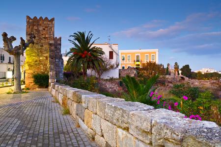 Ruins of the Ancient Agora and city wall of Kos town.