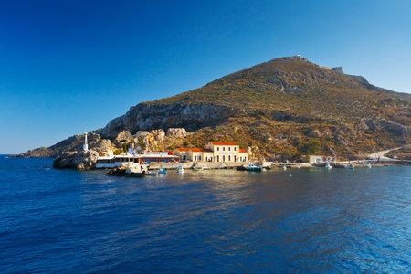 Leros island in Dodecanse archipelago in eastern Aegean.