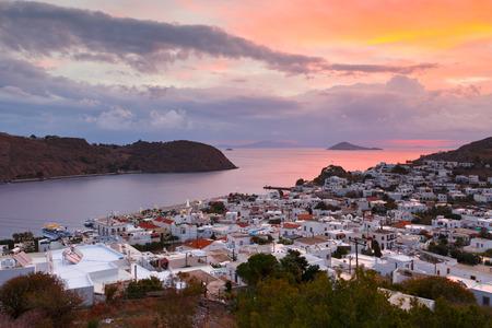 Patmos island in Dodecanse archipelago in eastern Aegean. Фото со стока