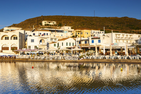 Loutra village on Kythnos island early in the morning.