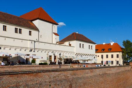 シュピルベルク城都市ブルノ、チェコ共和国の。