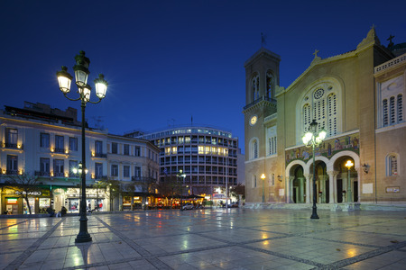 Metropolitan cathedral of Athens located in Metropolis square in Athenian old town. Editöryel