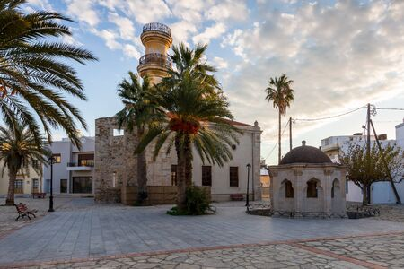 Ottoman mosque in a square in town of Ierapetra.