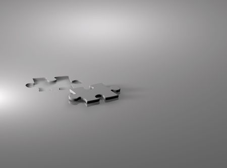 a jigsaw puzzle piece on a white background