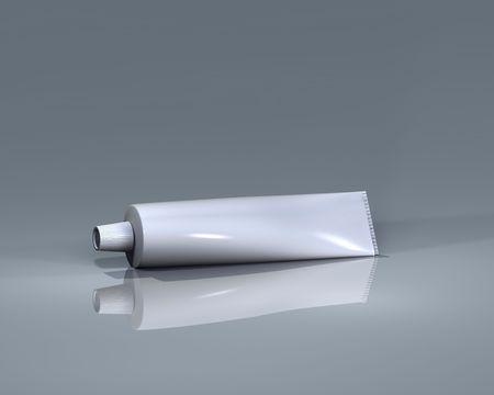 cremas faciales: Tubo de Logo Presentaci�n, envasado dise�o e ilustraci�n