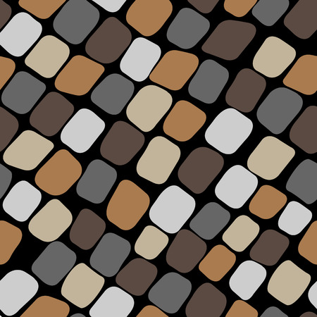 paving stones: Seamless color pattern with paving stones