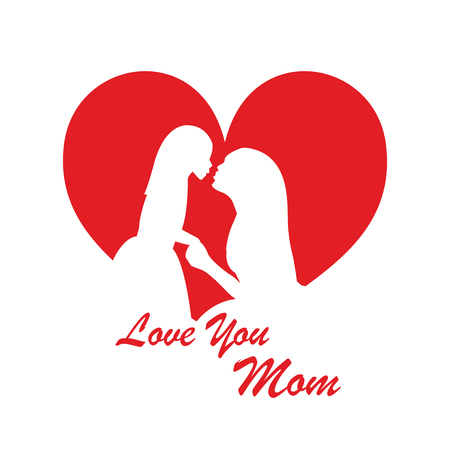 Vector illustration of Mothers Day for card, poster, banner, background
