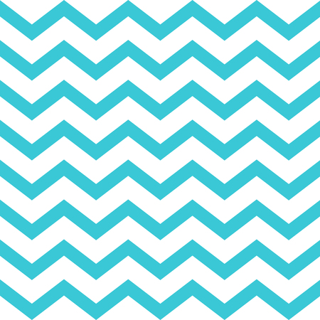 Blue seamless zigzag pattern on white background