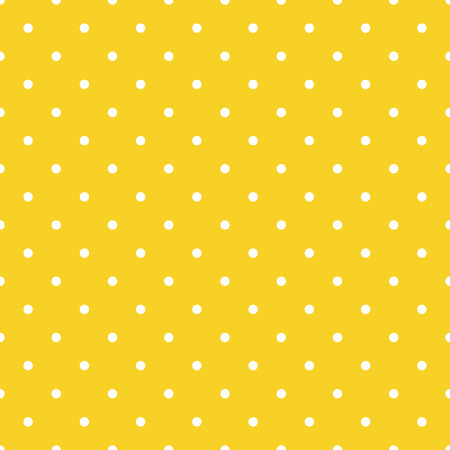Vector seamless pattern background polka dot in orange color