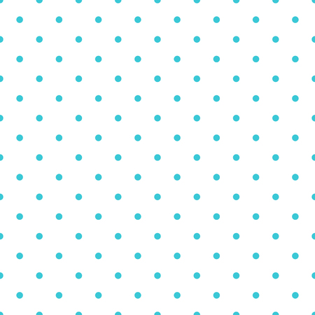 Vector seamless pattern background polka dot in blue color