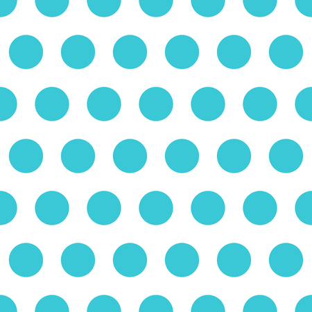 Blue vector seamless pattern background polka dot