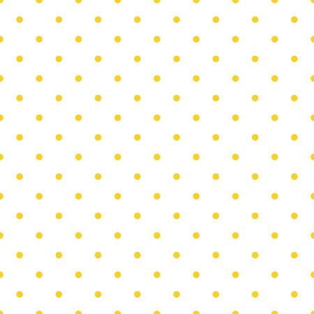 Vector seamless pattern background polka dot in orange color Illusztráció