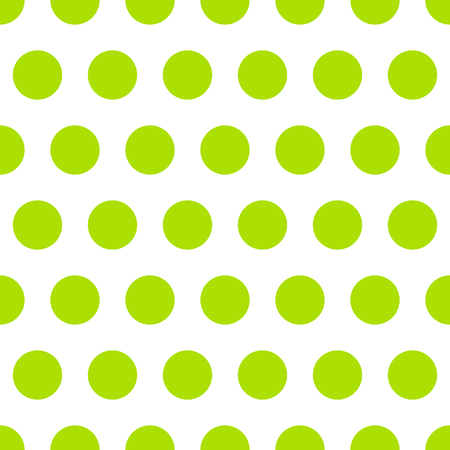 Seamless pattern background polka dot in green color