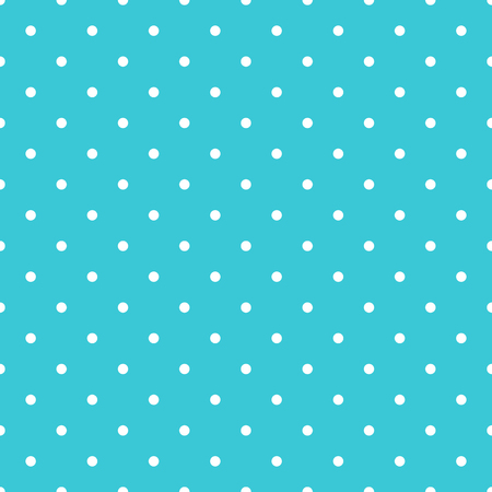 Seamless pattern background polka dot in blue color