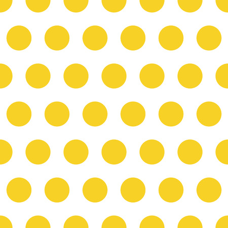 Vector seamless pattern background polka dot in green color