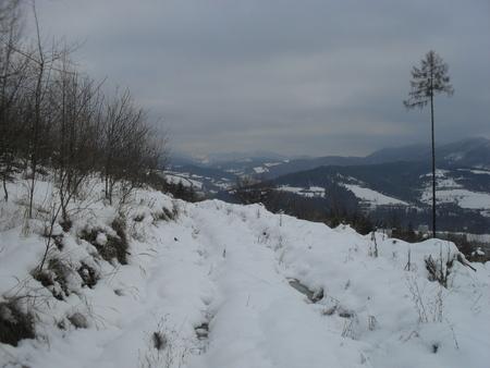 winter view of Kysucke Nove Mesto Reklamní fotografie