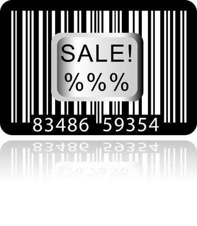 Bar Code Sticker Stock Vector - 11092690