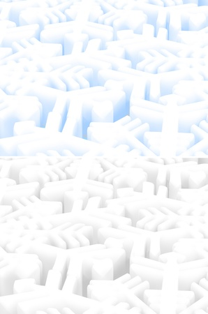 tridimensional: Snowflake Backgrounds Suitable For New Year Greeting Cards Or Christmas Greeting Cards