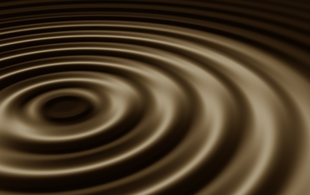 Ripples In Black Coffee Stock Photo - 11274442