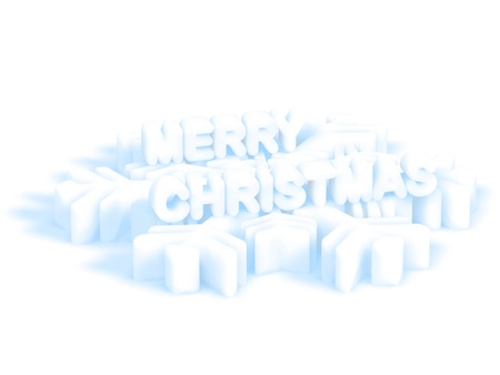 tridimensional: Christmas Greeting Card Background