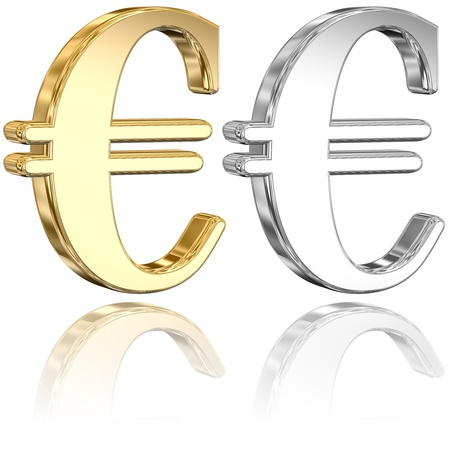 Euro Signs Stock Photo