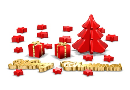Christmas Greeting Card Stock Photo - 11545046