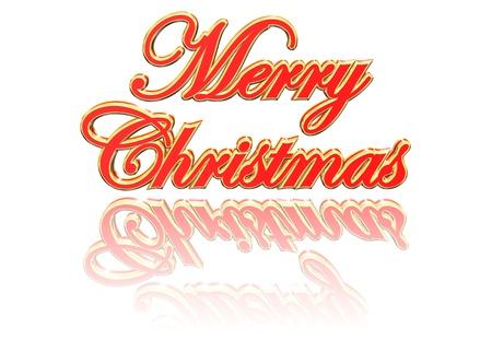 Christmas Greeting Card Design Element Stock Photo