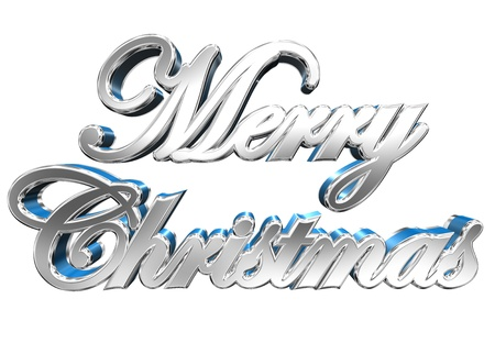 tridimensional: Christmas Greeting Card Design Element Stock Photo