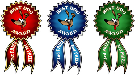 Clipart best dog award ribbons