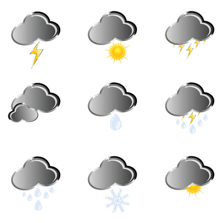 icon for weather forecast vector illustration on a white background Vector