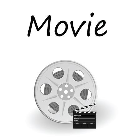 movie sign: pel�cula signo ilustraci�n vectorial Vectores