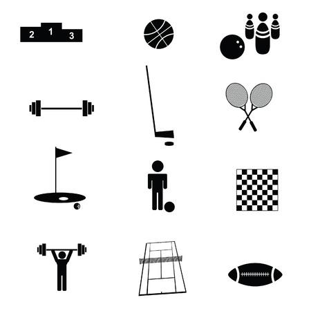 winner podium: sports icon vector illustration