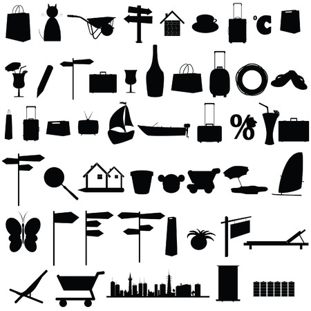 mincer: stuff black vector silhouette and more on white background