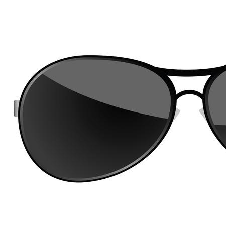 sunglass black art vector illustration illustration