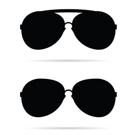 sunglasses: sunglasses black vector illustration