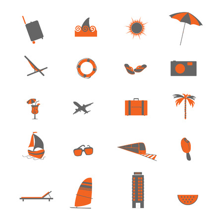 travel icon vector illustration illustration