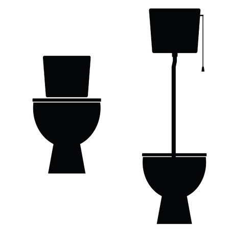 freshener: toilet vector illustration
