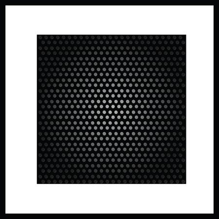 background black texture art vector on white Vector