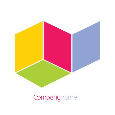 company name: company name background vector illustration Illustration