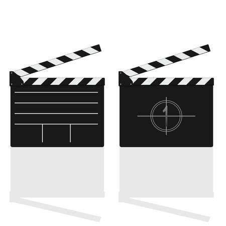 предмет коллекционирования: Фильм заслонки векторные иллюстрации