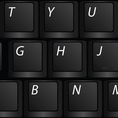 keyboard vector illustration Vector