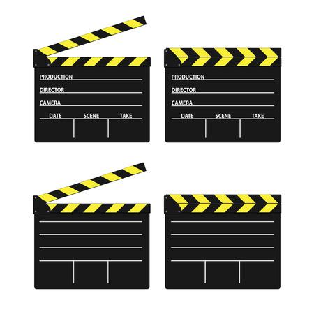 предмет коллекционирования: фильм для стрижки желтый вектор на белом фоне