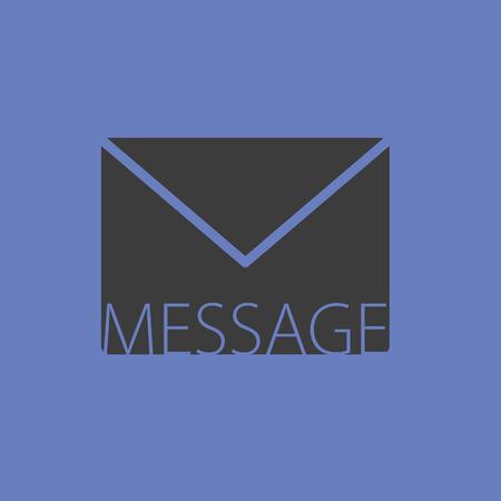 message vector: letter envelope message vector Illustration
