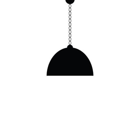 chandelier: chandelier black vector