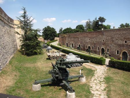 belgrade: Kalemegdan fortress in Belgrade on summer, Serbia