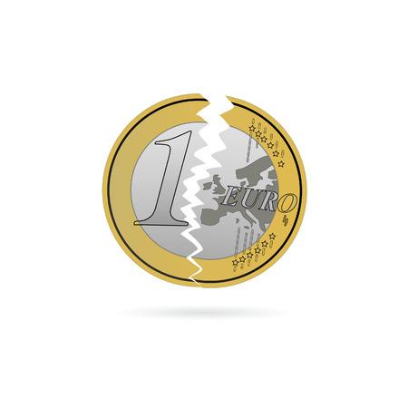 crack: euro crack color illustration